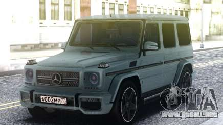 Mercedes-Benz G65 AMG 2013 Grey para GTA San Andreas