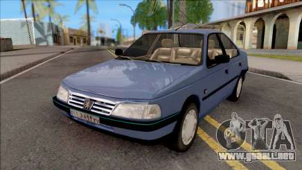 Peugeot 405 GLX Blue para GTA San Andreas