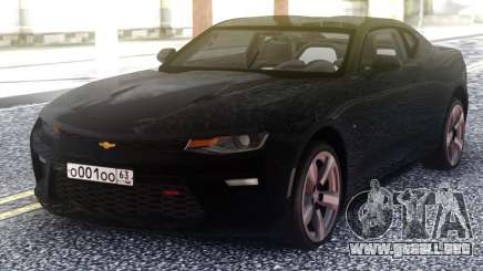 Chevrolet Camaro Black Coupe para GTA San Andreas