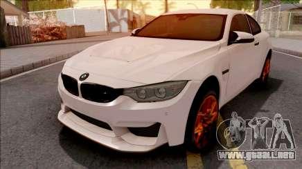 BMW M4 GTS White para GTA San Andreas