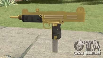 Gold Uzi GTA IV EFLC para GTA San Andreas