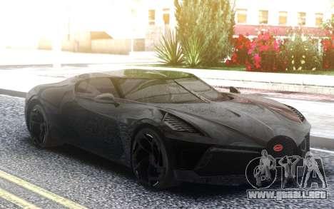 Bugatti La Voiture Noire 2019 para GTA San Andreas