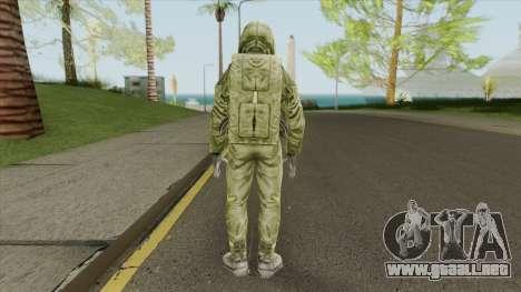 Ecologist V1 (STALKER: Shadow Of Chernobyl) para GTA San Andreas