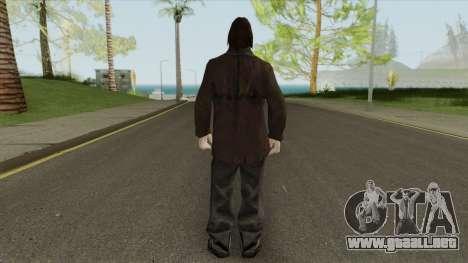 Urban Male Criminal (Dark Brown Leather Jacket) para GTA San Andreas