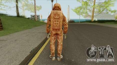 Ecologist V2 (STALKER: Shadow Of Chernobyl) para GTA San Andreas
