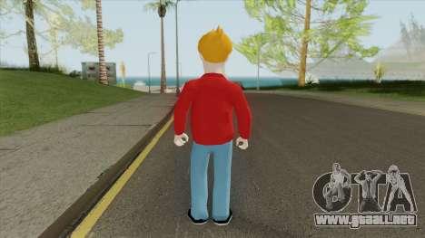 Fry (Futurama) para GTA San Andreas