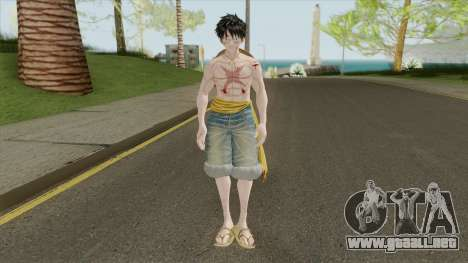 Monkey D Luffy para GTA San Andreas