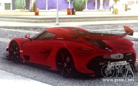 2020 Koenigsegg Jesko para GTA San Andreas