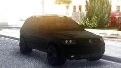 Volkswagen Touareg Black para GTA San Andreas