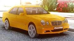 Mercedes-Benz E55 W210 Yellow para GTA San Andreas