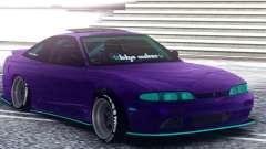 Nissan 180SX S14 Zenki para GTA San Andreas