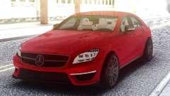 Mercedes-Benz CLS 63 AMG Red para GTA San Andreas