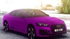 Audi RS5 Purple para GTA San Andreas