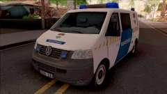 Volkswagen Transporter 5 Magyar Rendorseg para GTA San Andreas