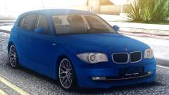 BMW 120i Blue para GTA San Andreas