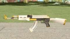 AK-47 White Gold para GTA San Andreas