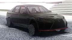 Lexus IS300 Drift Black para GTA San Andreas