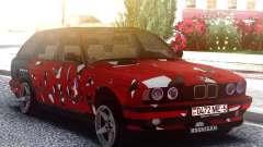 BMW E34 525i Pintura para GTA San Andreas