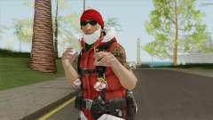 Dwayne The Santa Rock Johnson para GTA San Andreas
