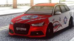 Audi RS 6 Beaten but not broken