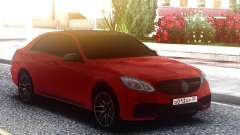 Mercedes-Benz E63 AMG W212 Red para GTA San Andreas