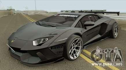 Lamborghini Aventador LP700-4 Liberty Walk 2012 para GTA San Andreas