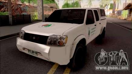 Nissan Frontier Srednjobosanske Sume para GTA San Andreas