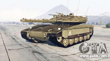 Merkava Mark IV para GTA 5