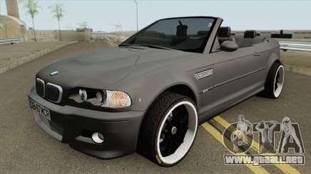 BMW M3 E46 Cabrio MQ para GTA San Andreas