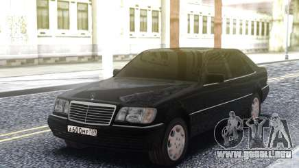 Mercedes-Benz W140 Original para GTA San Andreas