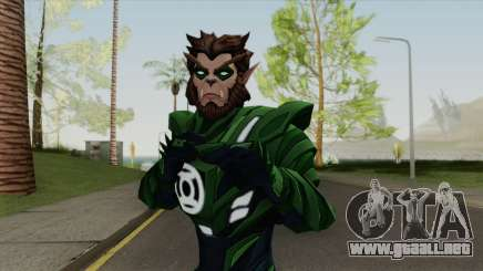 Arkkis Chummuck: Green Lantern Of Sector 3014 V2 para GTA San Andreas