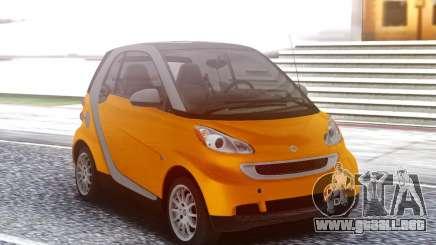 Smart ForTwo Orange para GTA San Andreas
