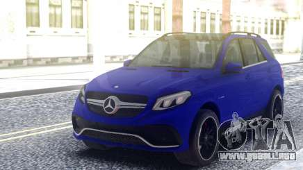 Mercedes-Benz GLE 63S Blue para GTA San Andreas