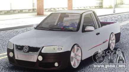 Volkswagen Saveiro G4 Pickup para GTA San Andreas