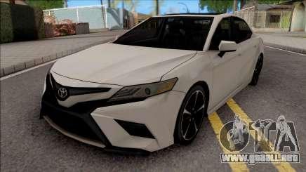 Toyota Camry XSE 2019 Lowpoly para GTA San Andreas