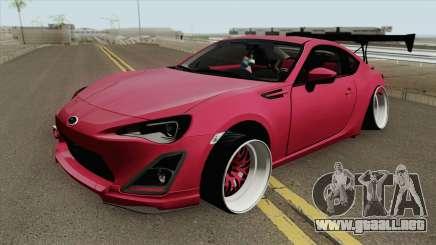 Subaru BRZ MQ para GTA San Andreas