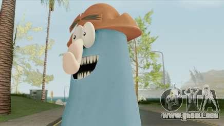 Captain Knuckles (Flapjack) para GTA San Andreas