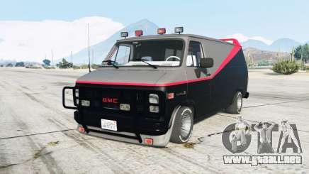 GMC Vandura A-Team Van para GTA 5