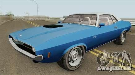 Bravado Gauntlet Classic GTA V IVF para GTA San Andreas