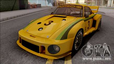 Porsche 935 1979 para GTA San Andreas