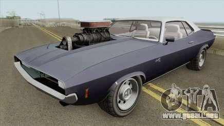 Bravado Gauntlet Classic GTA V Custom Bonnet para GTA San Andreas
