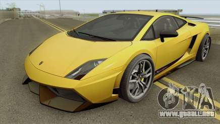 Lamborghini Gallardo LP 570-4 Superleggera 2011 para GTA San Andreas