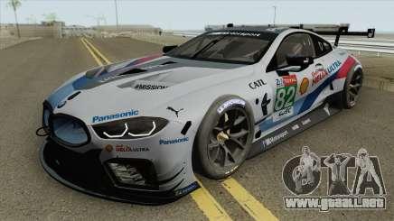 BMW M8 GTE 2018 High Quality para GTA San Andreas