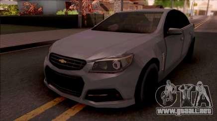 Chevrolet SS 2014 Lowpoly para GTA San Andreas