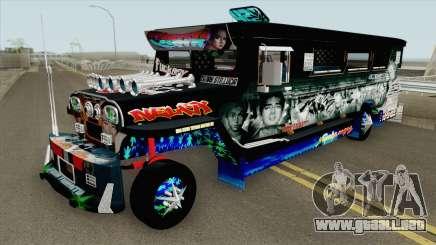 Castro Patok Jeepney para GTA San Andreas