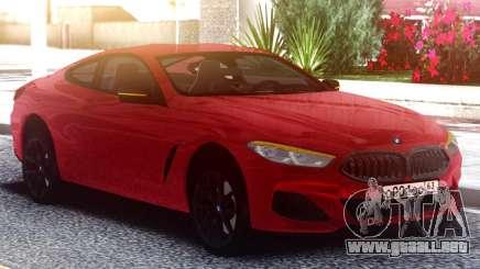 BMW M850i para GTA San Andreas