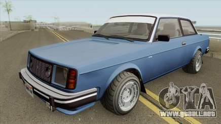 Vulcar Nebula Turbo GTA V (Stock) para GTA San Andreas