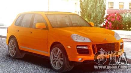 Porsche Cayenne Turbo S Orange para GTA San Andreas