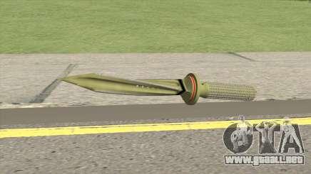 Jagdkommando Knife V2 para GTA San Andreas