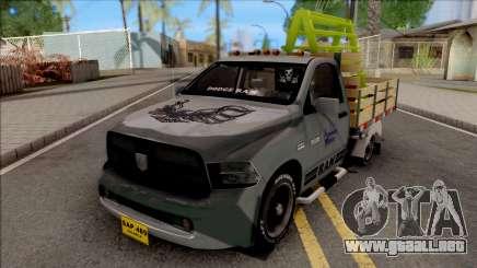 Dodge Ram 2500 Grey para GTA San Andreas